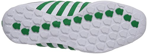 K-Swiss ARVEE 1.5 - Zapatillas de cuero hombre Weiß (WHITE/JOLLY GREEN/BLACK 144)