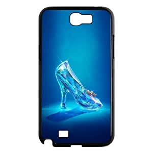 YUAHS(TM) Unique Phone Case for Samsung Galaxy Note 2 N7100 with Cinderella YAS408789