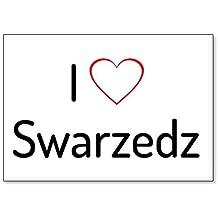 I Love Swarzedz, fridge magnet (design 1)