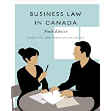 Business Law in Canada, Ninth Canadian Edition with MyBusLawLab (9th Edition) by Richard A. Yates (2010-02-15)