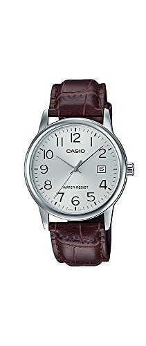 Casio #MTP-V002L-7B Men's Standard Analog Leather Band Easy Reader Day Date Watch by Casio (Image #2)