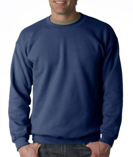 Gildan Men's Heavy Blend Crewneck Sweatshirt - X-Large - Indigo Blue ()