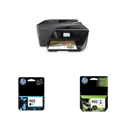 HP OfficeJet Pro 6978 Wireless All-in-One Photo Printer with Standard Ink Bundle