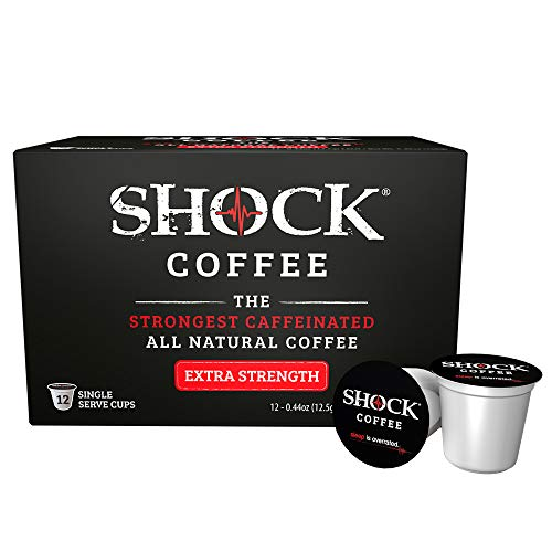 Shock Strength Strongest Caffeinated Caffeine