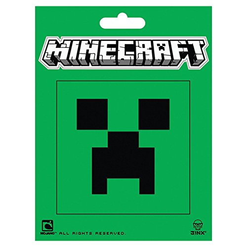 Minecraft Creeper Face Sticker (Game With Card On Forehead)