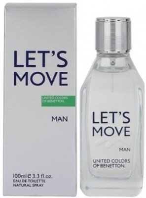 United Colors of Benetton Lets Move EDT - 100 ml(for Men)