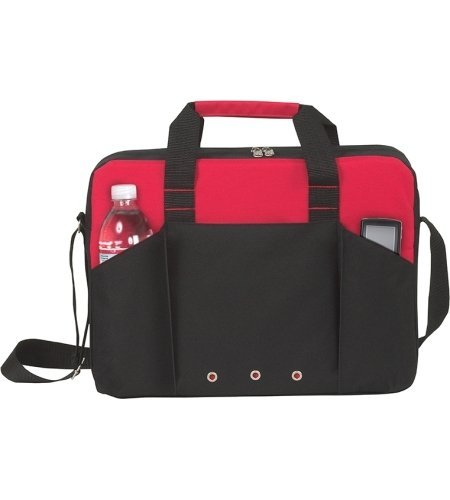 Economic Force Briefcase - 50 Quantity - PROMOTIONAL PRODUCT / BULK / BRANDED with YOUR LOGO / CUSTOMIZED - Kineticpromos #AP3010