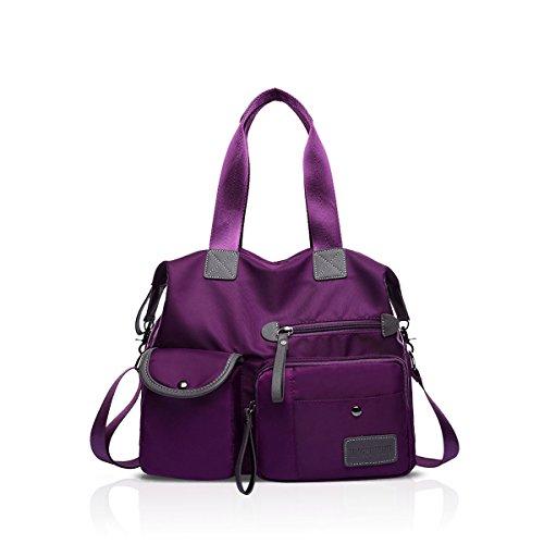 Sac Main Rouge amp;DORIS NICOLE VV002 ND Red Violet à pour Femme 5x4qftq