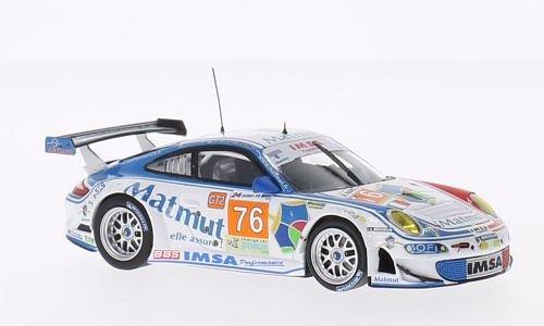 Porsche 911 (997) GT3 RSR, No.76, IMSA Performance Matmut, Matmut, 24h Le Mans, 2010, Model Car, Ready-made, Minichamps 1:43