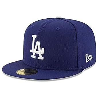 69694ce5c1b Amazon.com  New Era 59FIFTY Los Angeles Dodgers MLB 2017 Authentic ...