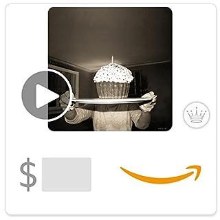 Amazon eGift Card - Giant Celebration Cupcake (Animated) [Hallmark] (B06XX66JVZ) | Amazon price tracker / tracking, Amazon price history charts, Amazon price watches, Amazon price drop alerts