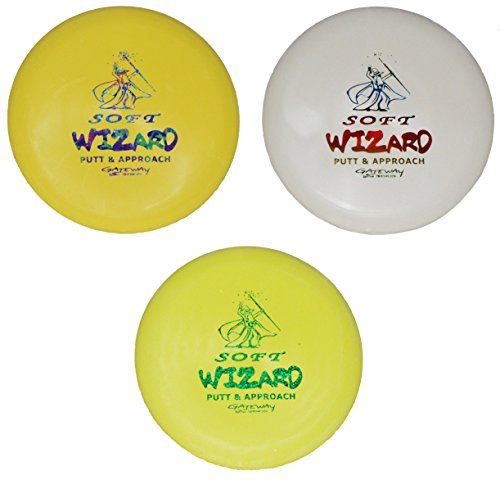 Gateway Disc Golf S Wizard Set of 3 (173-175g) Colors Will Vary - Gateway Disc Golf Driver