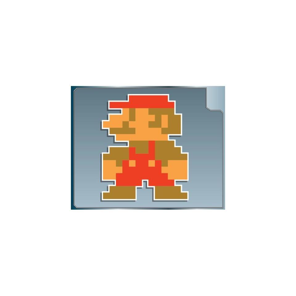 MINI MARIO 8 bit from Super Mario Bros. vinyl decal sticker