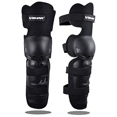 Runspeed 1 Pair Motorcycle Knee Pads Brace Bicycle MTB Cycling Bike Riding Knee Support Protective Gear Guards for Adult Outdoor Sports Knee Protector Gear (Black) : Sports & Outdoors