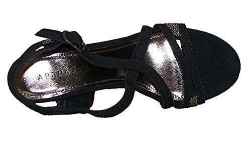 Apepazza - Peggy Camoscio, Sandalo tacco 7 cm
