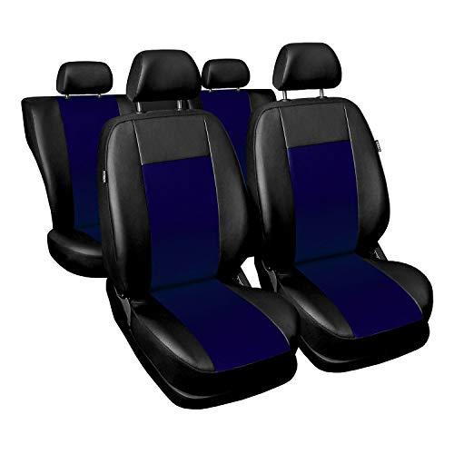 Saferide Universele kunstlederen stoelhoezen, complete set stoelhoezen voor auto, stoelbeschermer, set beschermhoezen…