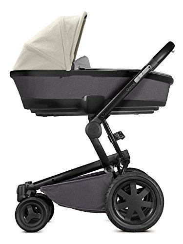 Quinny Buzz Xtra Kombi-Kinderwagen und Sportbuggy, ab der Geburt nutzbar mit Maxi-Cosi Babyschale, automatische sekundenschnelle Aufklappfunktion und robuste Reifen für jedes Gelände, reworked grey