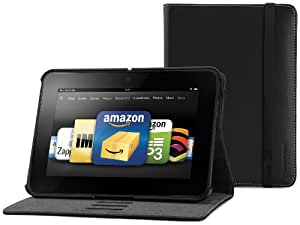 "Marware EcoVue Genuine Leather Standing Case for Kindle Fire HD 7"", Black (will only fit Kindle Fire HD 7"")"