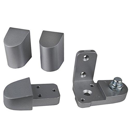Global Door Controls Aluminum US Alum Style Left Hand Offset Pivot ()