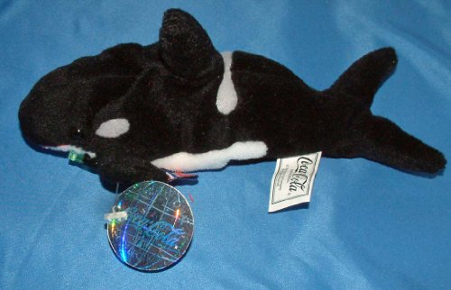 Coca-Cola International Collection Bean Bag Tides the Killer Whale - Norway Item #0345