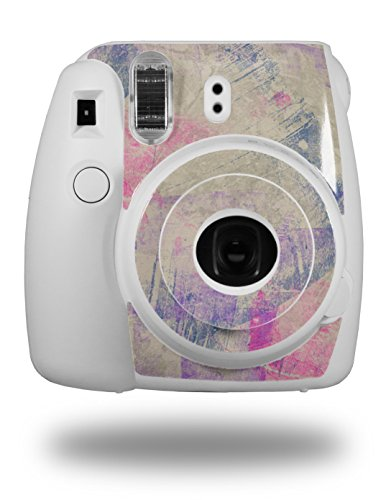 WraptorSkinz Skin Decal Wrap for Fujifilm Instax Mini 8 Camera Pastel Abstract Pink and Blue (CAMERA NOT ()