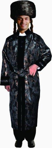 Black Rabbi Coat (Large) -