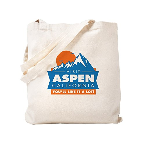 CafePress Aspen California Natural Canvas Tote Bag, Cloth