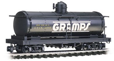 "Bachmann Industries Tank Car - Gramps - Large ""G"" Scale Rolling Stock"