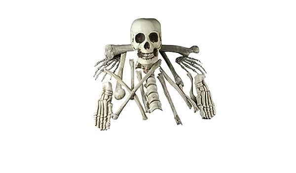 Heetey - Decoración de Halloween, Esqueleto para Halloween ...