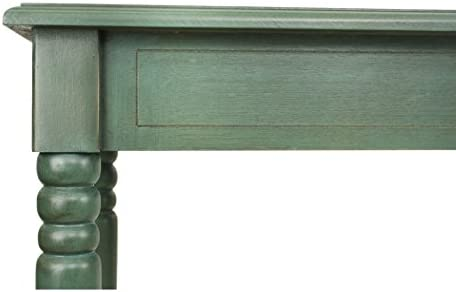 D cor Therapy Simplify Large Console Table, Antique Teal