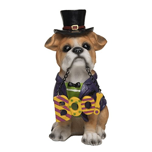 (One Holiday Way Halloween Puppy Dog with Costume and Sign - Standing Halloween Tabletop Decorations (Boo))