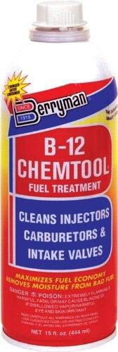 (Berryman (0116-12PK) B-12 Chemtool Carburetor/Fuel Treatment and Injector Cleaner - 15 oz., (Pack of 12))