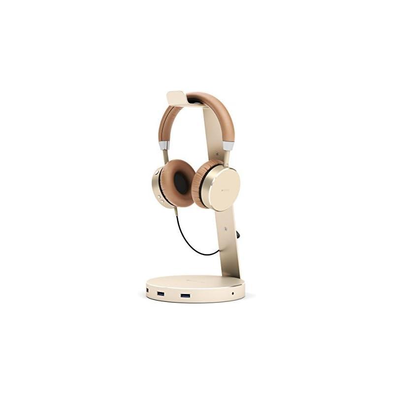 Satechi Aluminum USB Headphone Stand Hol