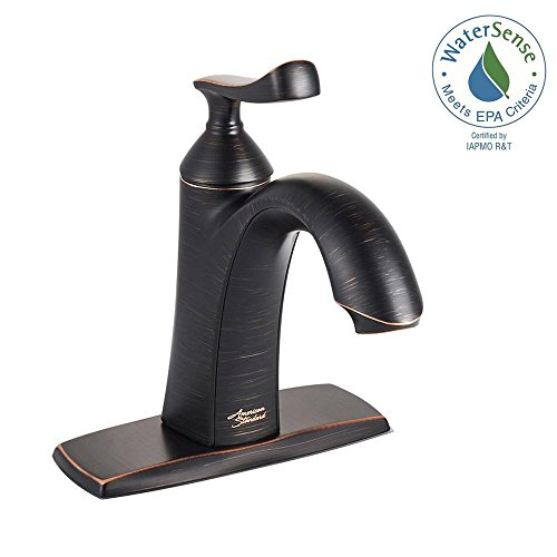 American Standard Chatfield Single Hole Single-Handle Bathroom Faucet in Legacy Bronze - Legacy Single Handle Faucet