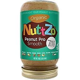 Nuttzo Organic Seven Nut & Seed Crunchy Butter,  16 Ounce