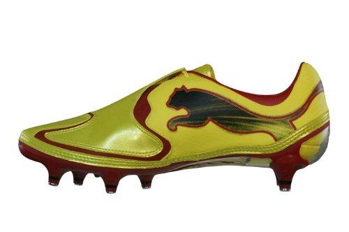 Puma - V1.10 sg zapatilla/zapato para hombre estilo con cordones, talla 6.5 uk, color amarillo Amarillo