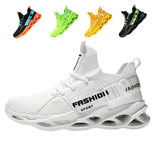 fashionable Sportschuhe Laufschuhe Atmungsaktiv Leichte Turnschuhe Gym Fitness Sneaker für Herren Damen36EU-46EU