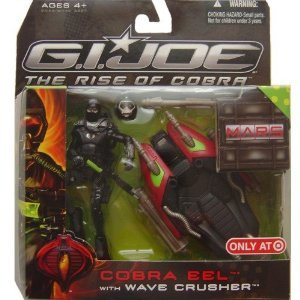 G.I. Joe Movie The Rise of Cobra Exclusive M.A.R.S. Troopers Action Figure Cobra Eel with Wave Crusher (Cobra Eel)