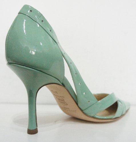 Jimmy Choo, Scarpe col tacco donna Verde Pale Green 37 (4.5 UK)