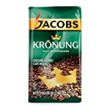 jacobs coffee - Jacobs Kronung Ground Coffee, Pack of 2- 17.6ounces  (packing may vary)