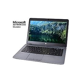 HP EliteBook 840 G2 14in Laptop, Core i5-5300U 2.3GHz, 16GB Ram, 256GB SSD, Windows 10 Pro 64bit, Webcam (Renewed)
