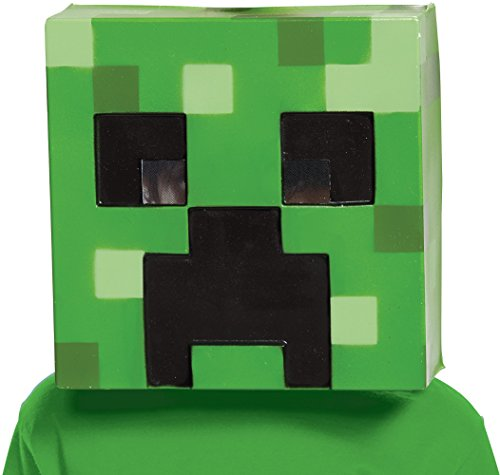 The Creeper Minecraft Costume (Creeper Minecraft Child Mask)