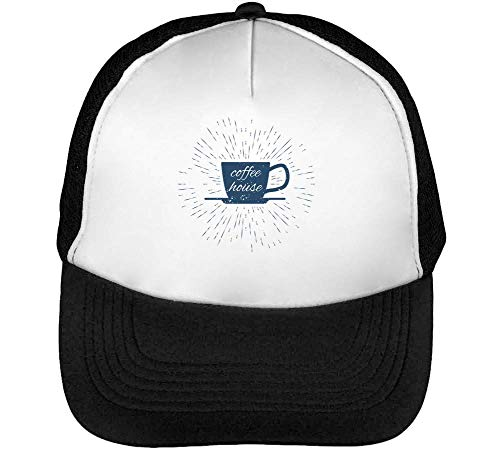 Beisbol Coffee Negro Blanco Hipster Hombre Snapback Gorras FrIUxr