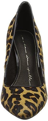 Moda in Pelle Ceisa - Zapatos de Tacón mujer Marrón (Leopard)