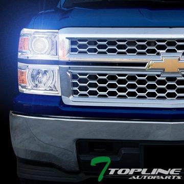 Topline autopart 8000 K 8 K HID Xenon W/lastre + cromo Proyector ...