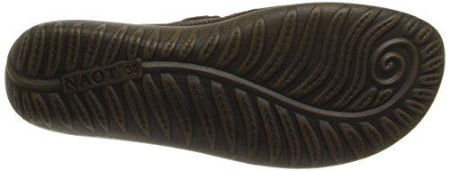 Naot Calzature Donna Kirei Mary Jane Pelle Bruciata Color Rame / Pelle Scamosciata Di Cacao / Marrone Shimmer Nabuk