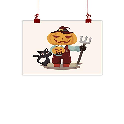 duommhome Simulation Oil Painting Halloween Party Costume Theme Elements Simulation Oil Painting 24