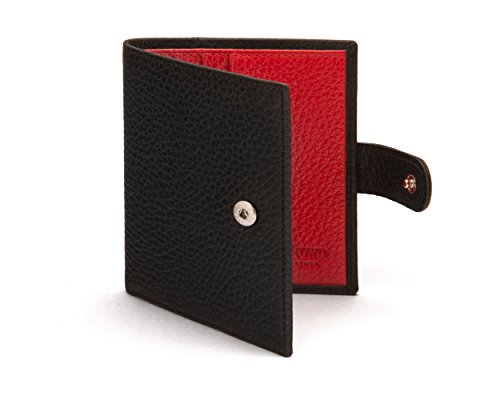 Tab Compact SAGEBROWN Billfold With Wallet with SAGEBROWN Red Black Compact TwvqnAfxx