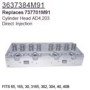 3637384m91 massey ferguson parts cylinder head 65 165 30 3165 302 3 - Massey ferguson head office ...