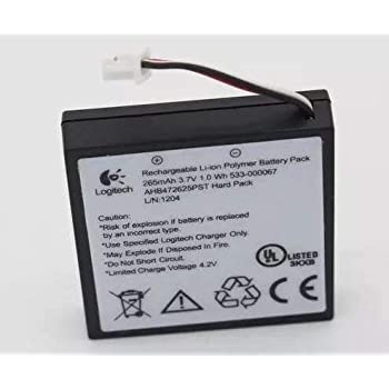 Amazon Com Battery For Wireless Headset H800 Cell Phones Accessories